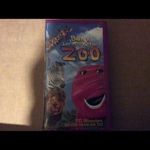 Barney Zoo VHS